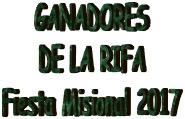 Ganadores Rifa FM17