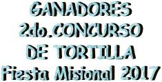 Ganadores Tortilla FM17